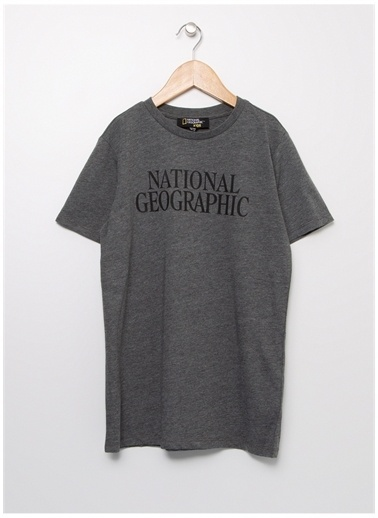 National Geographic National Geographic Antrasit Erkek Çocuk T-Shirt Antrasit